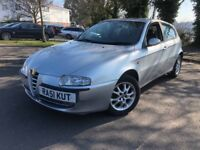 Alfa Romeo 147 T Spark Lusso 12 months MOT Low mileage cheap car not golf or focus