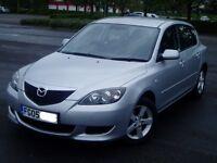 2005 Mazda 3 1.6 Ts. Full 12 Months Mot. 1 Previous owner. Extensive Service History. 5 Door Hatch.