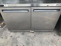 2 door slim model work bench fridge commercial catering kitchen equipment restaurant cafe shop