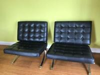Barcelona Style Chairs SOLD