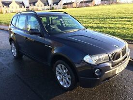 Low Mileage, well looked after BMW X3 SE, FSH, MOT Nov £5950 o.n.o.