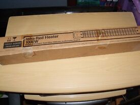 **COLD** BRAND NEW DIMPLEX INFA-RED BATHROOM/KITCHEN HEATER **COLD**