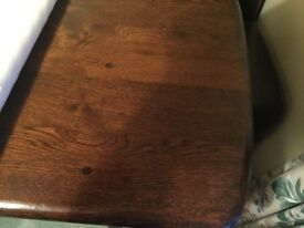 Dinning table rosewood colour