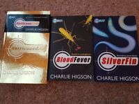 Very good condition 3 books by Charlie Higson - Young Bond Series