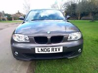BMW118 SE, diesel, six speed, 2006, new Mot, service history, good condition, superb drive.