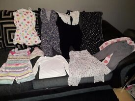 Girls clothes bundle size 4-5 years