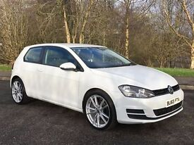 2013 VOKSWAGEN GOLF 1.6 TDI TECH SE****56000 MILES****FINANCE AVAILABLE***FREE ROAD TAX