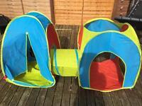 Tent tunnel set