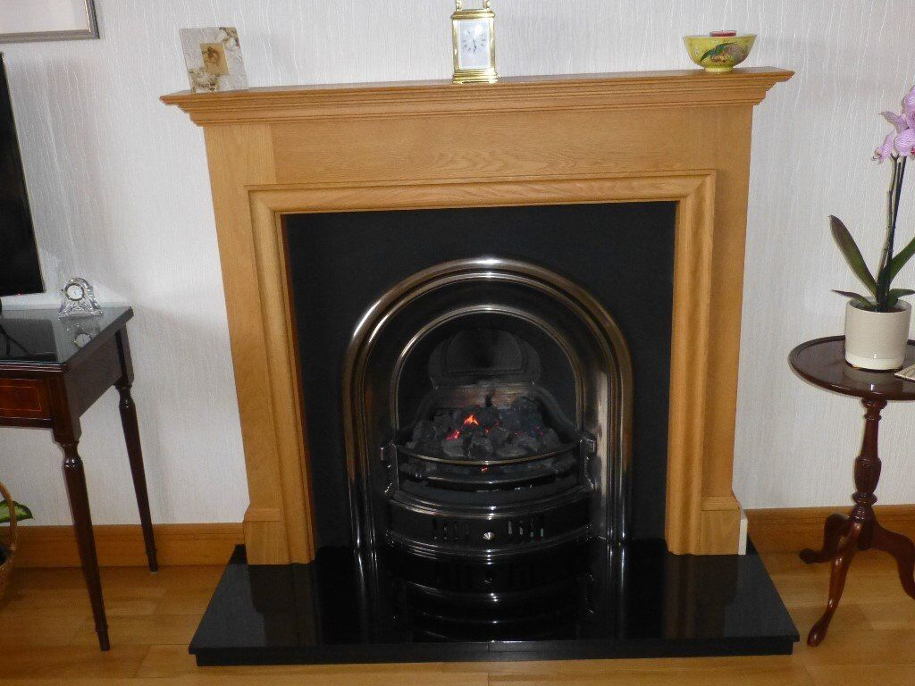 Solid Oak Fireplace Surround In County Antrim Gumtree