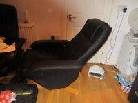 gaming chair and stool