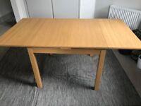 IKEA BJURSTA Kitchen Table - Oak Veneer