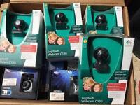 6 Webcams job lot