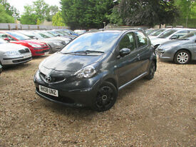 TOYOTA AYGO 1.0 + VVTI 5 DOOR PETROL 1 OWNER FROM NEW FULL SERVICE HPI CLEAR WARRANTED MILEAGE