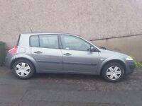 Renault Megane 1.5 dci £30 tax