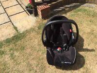 Recaro baby car seat in good condition