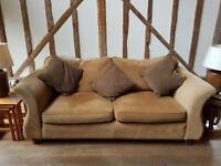 3 Seater Sofa with matching cushions
