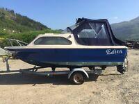 Boat for sale Shetland 500 cabin cruiser.