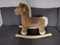 **MAMAS AND PAPAS ROCKING HORSE***REAL 'NEIGH' SOUND**EXCELLENT CONDITION**RRP £69**GRAB A BARGAIN**
