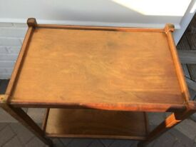 VINTAGE FOOD/DRINKS TROLLEY - COULD BE SHABBY CHIC