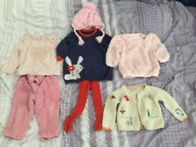 9-12 months girl autumn clothes