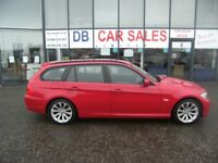 DIESEL !! 2010 10 BMW 3 SERIES 2.0 320D SE TOURING 5D 181 BHP ** GUARANTEED FINANCE ** PART EX WEL