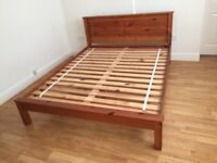 Lovely King Size Bed (157x197)