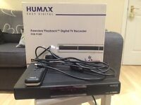 Humax freeview playback digital recorder