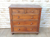Chunky Welsh Pine Chest of Drawers x 2 available (Delivery)