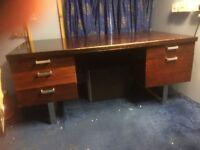 1970s Gordon Russell Style Desk.