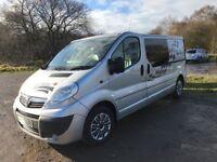 Vivaro campervan full mot, serviced, recent conversion 2 swivel seats