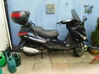 125cc piaggio scooter