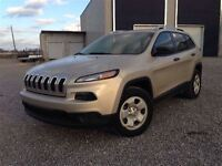 2014 Jeep Cherokee SPORT 4WD HEATED SEATS