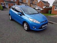 2010 ford fiesta 1.2 zetec 12 mths mot full service history beautiful colour