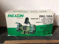 Rexon EBG-150A Bench Grinder - Boxed