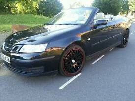 SAAB 9-3 LINEAR 2.0T*2005*AUTOMATIC*CONVERTIBLE*12M/MOT*LADY OWNED*SUPERB CONDITION*