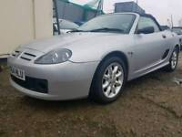 MG TF convertible 1.6 petrol with 8 months MOT and part of history as well