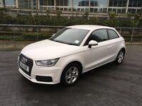 Audi A1 White 1.0 TFSI SE 3dr Manual, 65 plate, 9000 miles