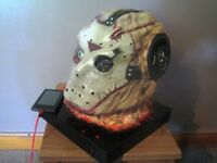 Jason Friday the 13th Music player mp3/phone hand crafted