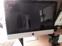 IMAC, 21.5 -inch, Intel core i5, 4 GB RAM and 500 GB HDD