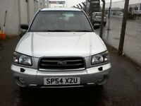 Reg.09/11/2004 SUBARU ESTATE FORESTER X ALL WEATHER 2L PETROL, YEAR MOT, WARRANTY, FULL SERVICE