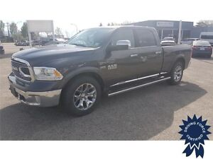 2016 Ram 1500 Limited Crew Cab 4x4 - 28,855 KMs, Short Box