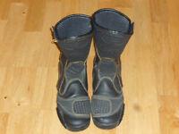 StylMartin Ladies' Leather Motorbike Boots