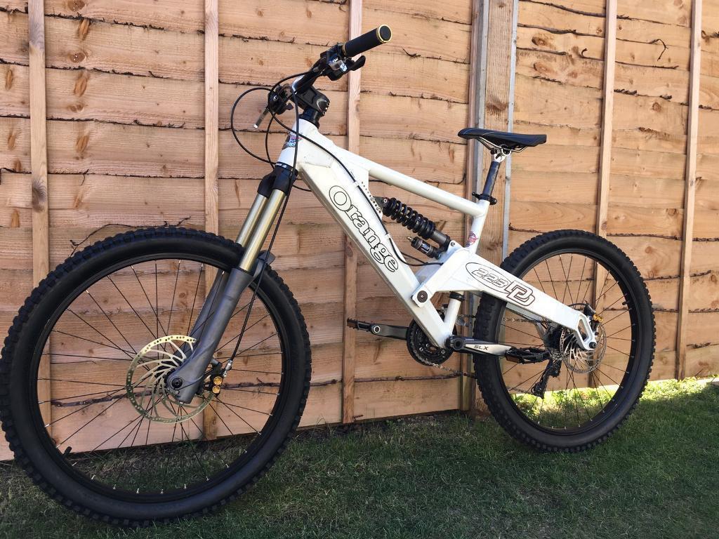 Orange 223 Full Suspension Downhill Bike Like New High Spec Hope Fox In Lytham St Annes
