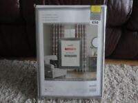 Dunelm new Thermal eyelet curtains size 66 x 54 inches