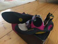 La Sportiva Katana Woman Pink/White Climbing Shoes