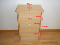 Chest of 3 drawers~Bedside Cabinet Table
