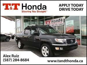 2013 Honda Ridgeline Touring *Local Truck, Navi, New Tires*