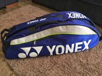Yonex 3 to 4 Sports Racket ,Tennis, Badminton, Squash bag