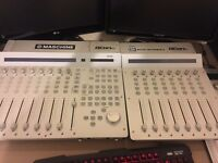 iCON Qcon Pro 8 Channel Usb Mixer + 8 Channel Exstention in Immaculate Conditon Original Boxes