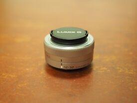 Panasonic 12-32mm f/3.5-5.6 Lens (Silver)